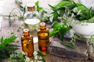 Mint and other essential oils